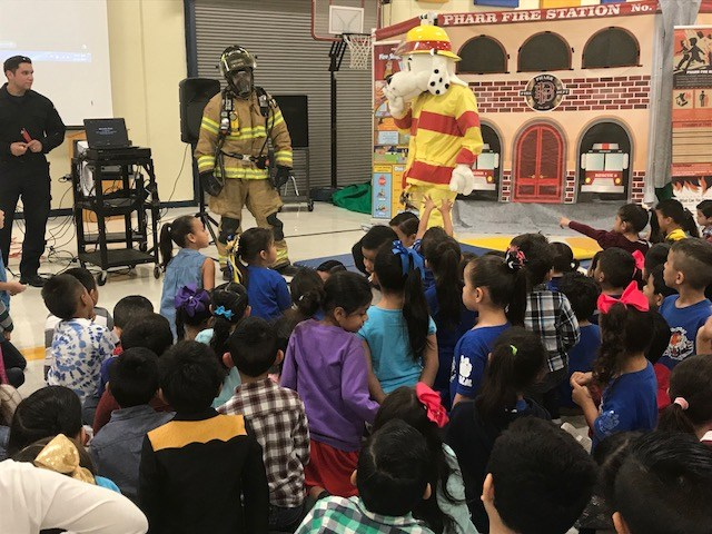 Pharr Fire Prevention Presentation for our students Thumbnail Image