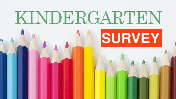 kindergarten survey