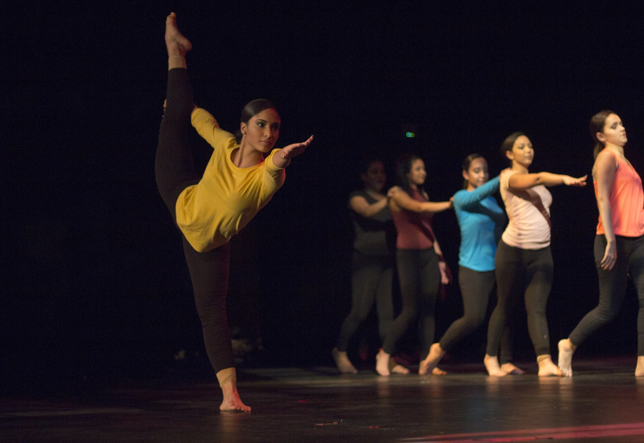 modern movement dance