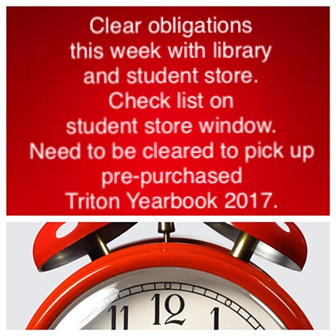 Triton Yearbook Pre-Purchased Pickup Thumbnail Image
