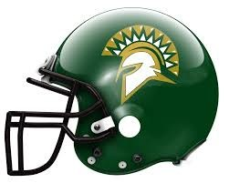 Spartan Football Helmet