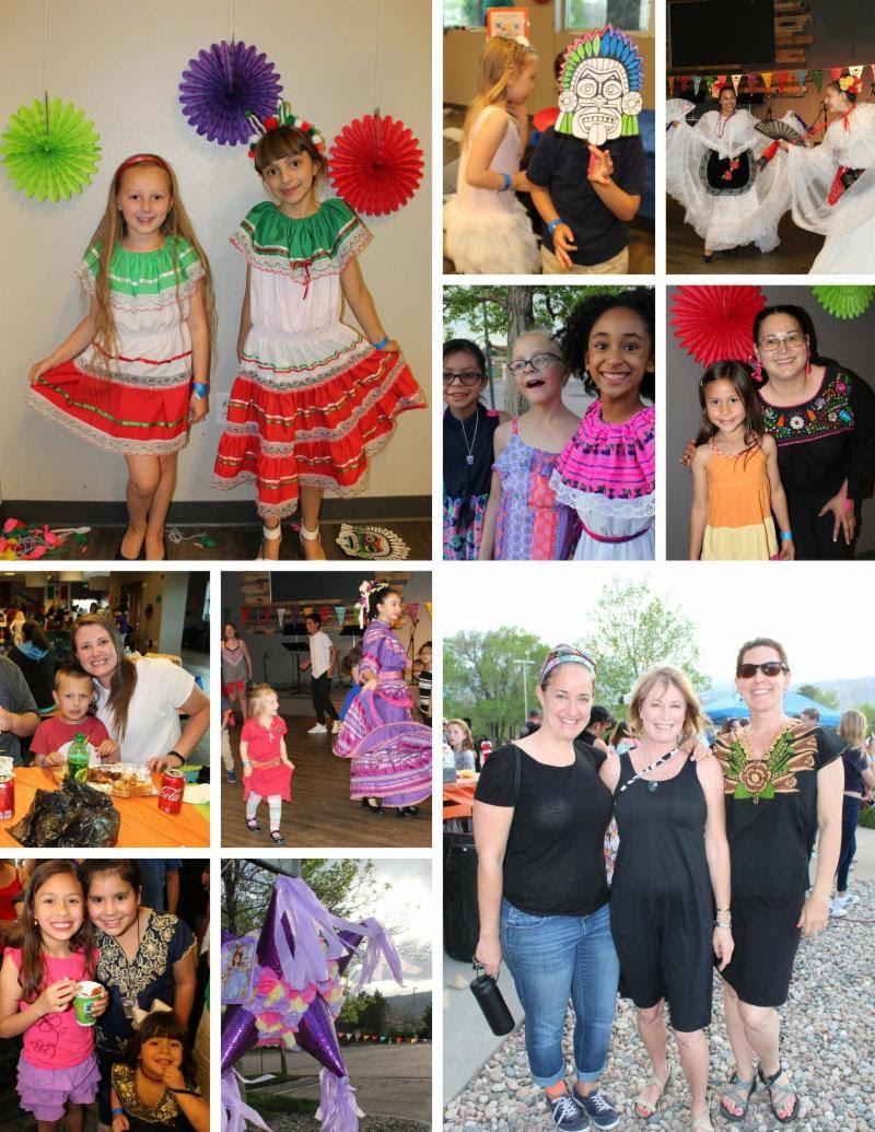 fiesta salsa photo collage