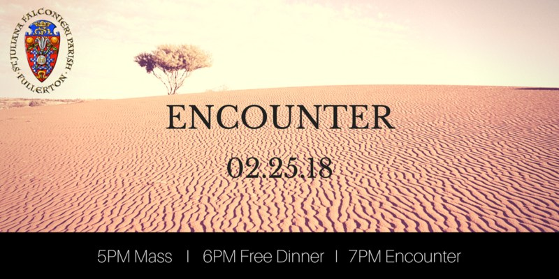 ENCOUNTER - 02/25/18 Featured Photo