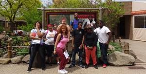 Invictus High School Cleveland students trip photo