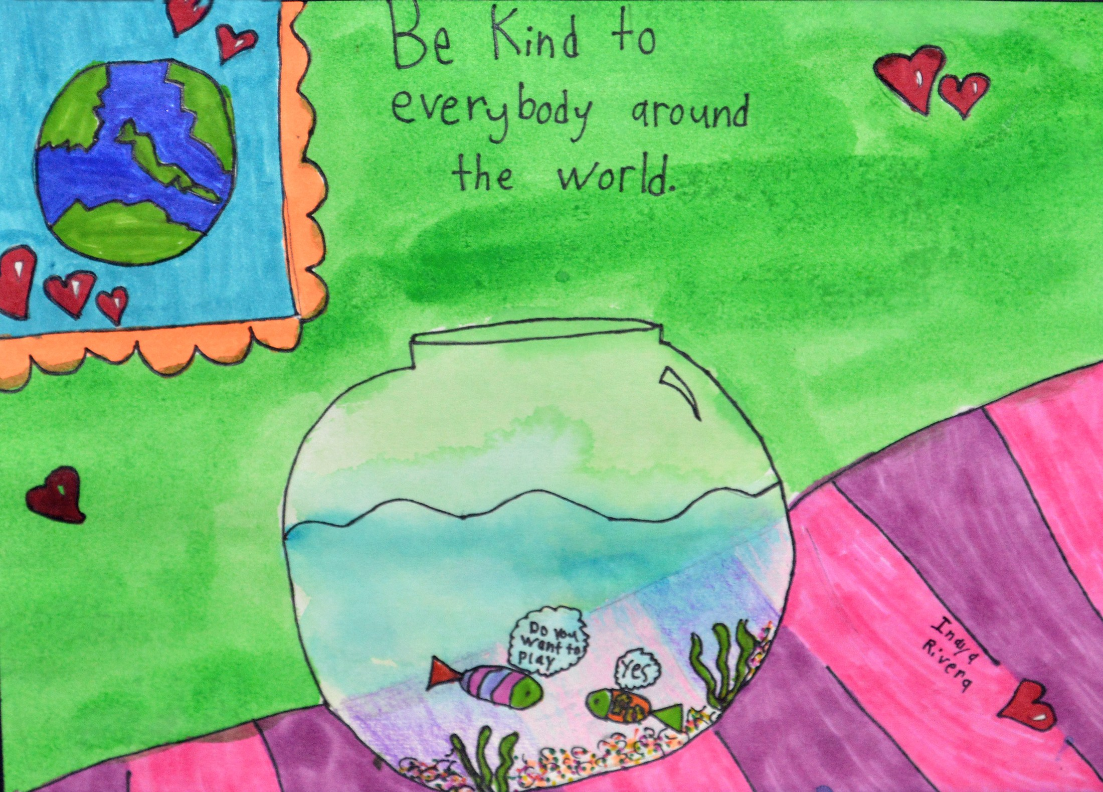 Mission and Vision - Be kind to everybody around the world