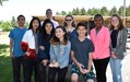 PCS students from Spanish classes who earned bronze and honorable mentions with teacher Eric Herboth
