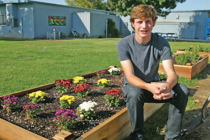 Exeter Student Plants Winning Garden Idea Featured Photo