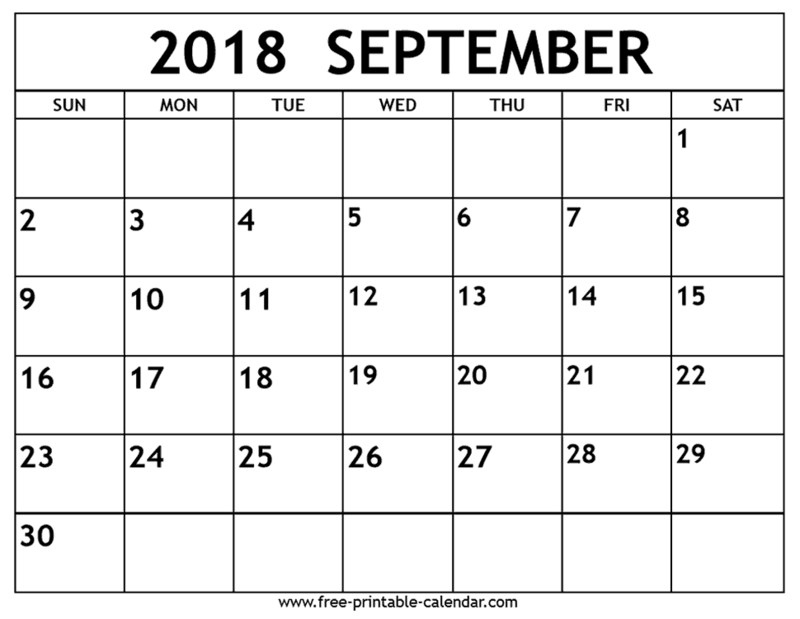 School Calendar for 2018-19 Thumbnail Image