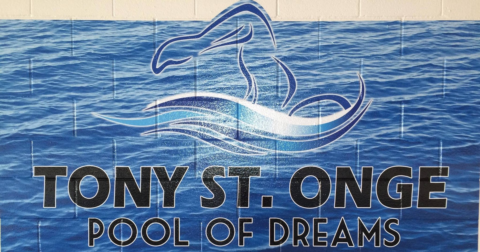 Tony St. Onge Pool of Dreams mural