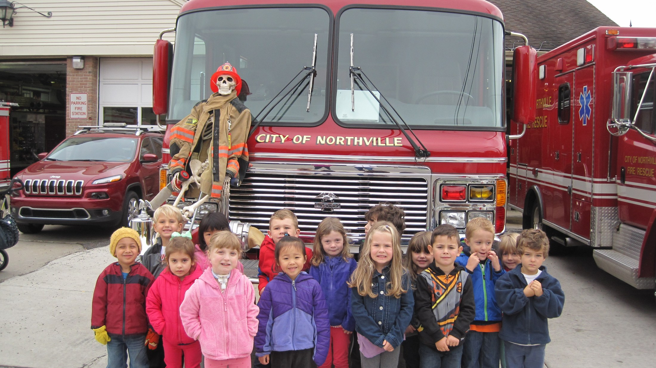 Field trip - Fire Station