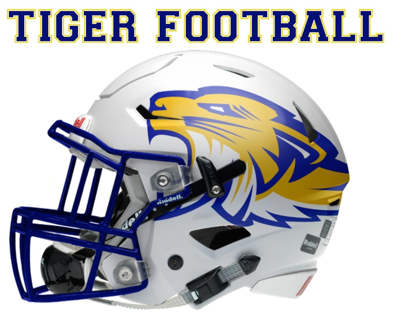 Frenship Tiger Football helmet