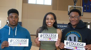 CPA seniors, College Signing Day