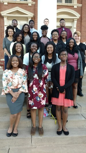 VHS Juniors in SMILE at college tour