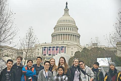 Holy Name 8th Graders in Washington D.C. Thumbnail Image