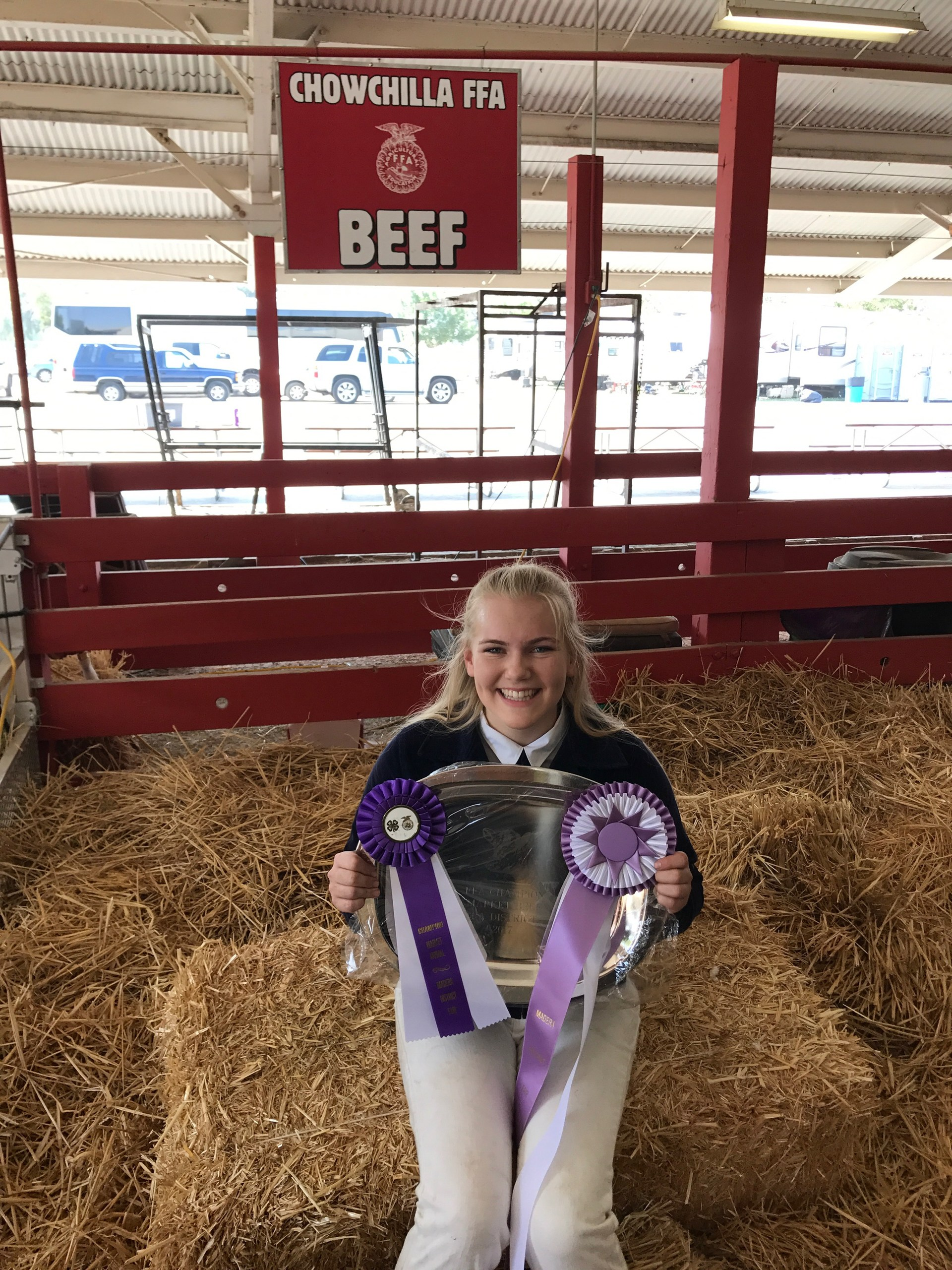 Madera District Fair - Reserve Grand Champion Steer - Riley Barney