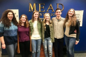 Six student scholars at Mead High School.