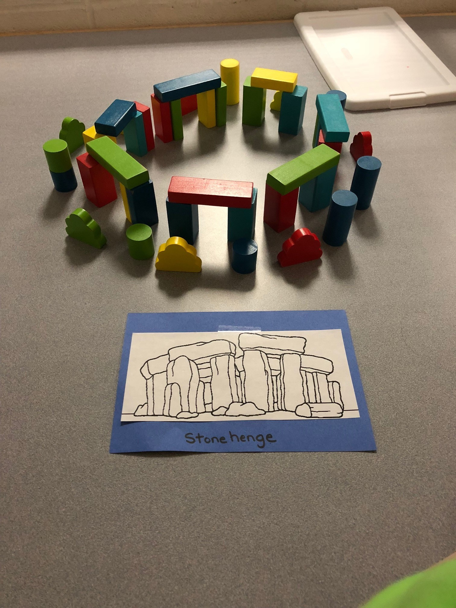 Makerspace building challenge pic