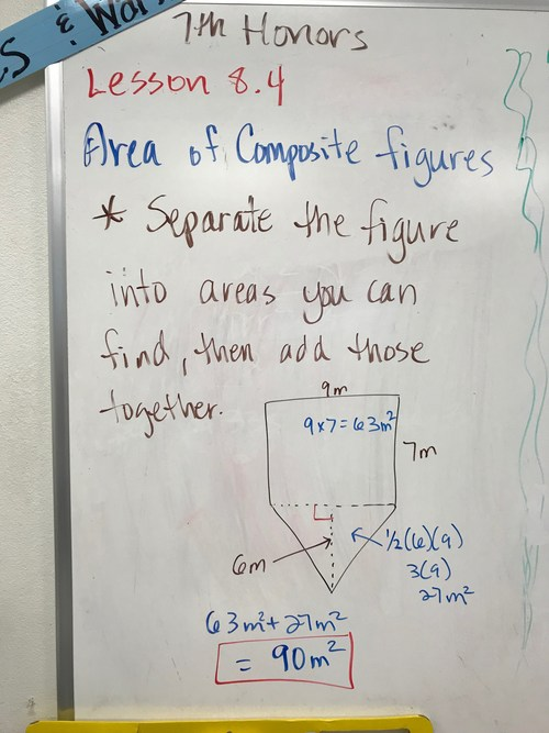 7th Honors Lesson 8.4