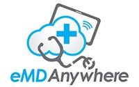 eMD Anywhere logo