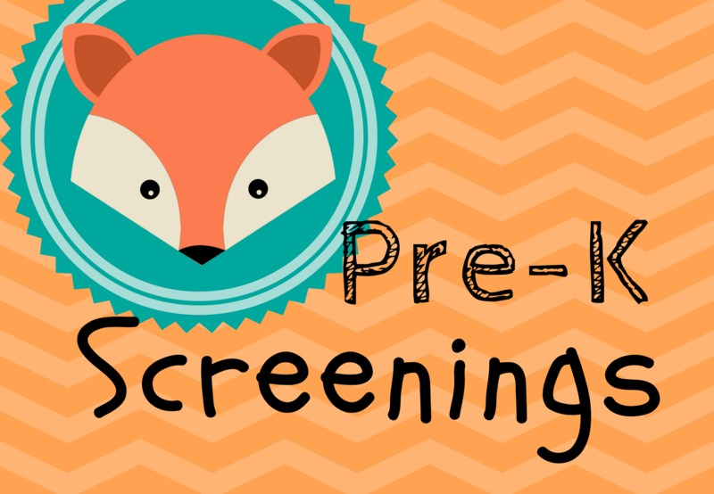 Pre-K Accepting Screening Registrations Thumbnail Image