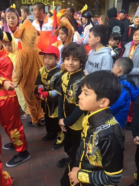 First Graders in SF Chinese New Year Parade! Thumbnail Image