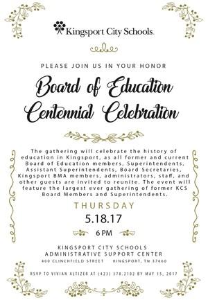 BOE Celebration invitation