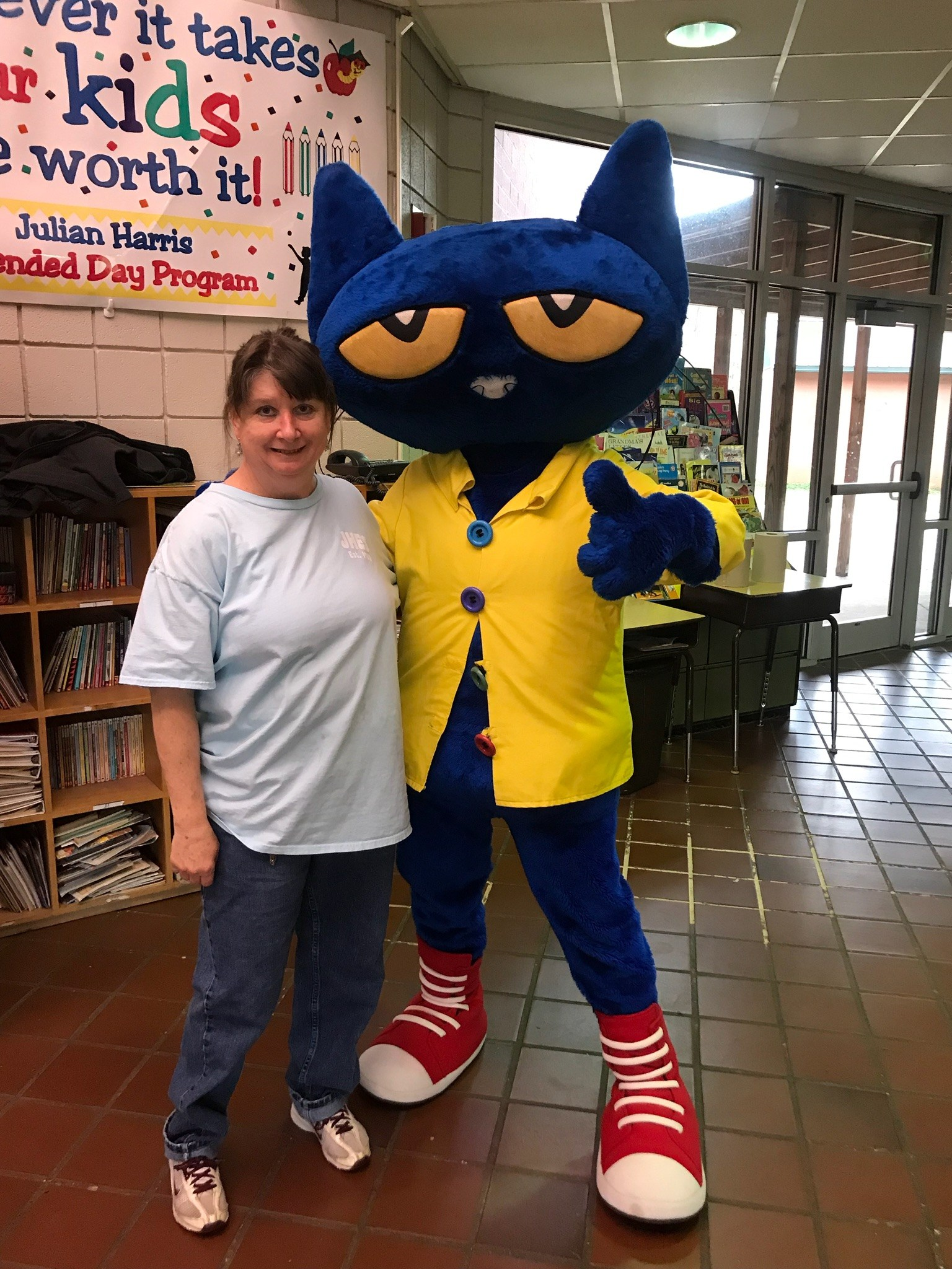 Pete the Cat Visits JHES Image