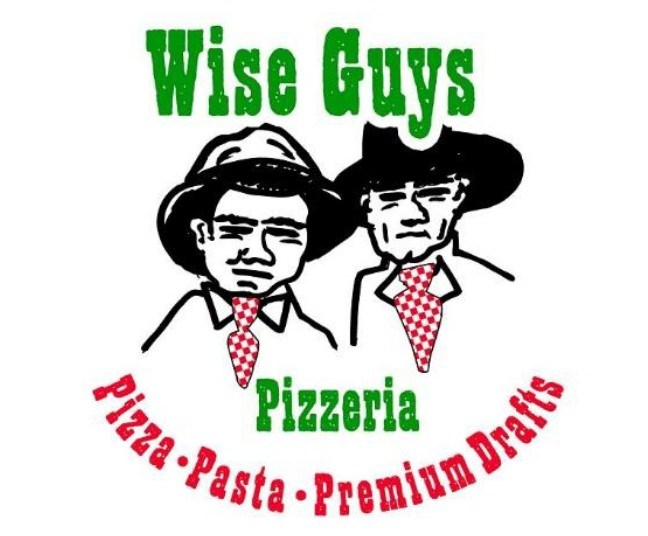 Wise Guys pizza logo
