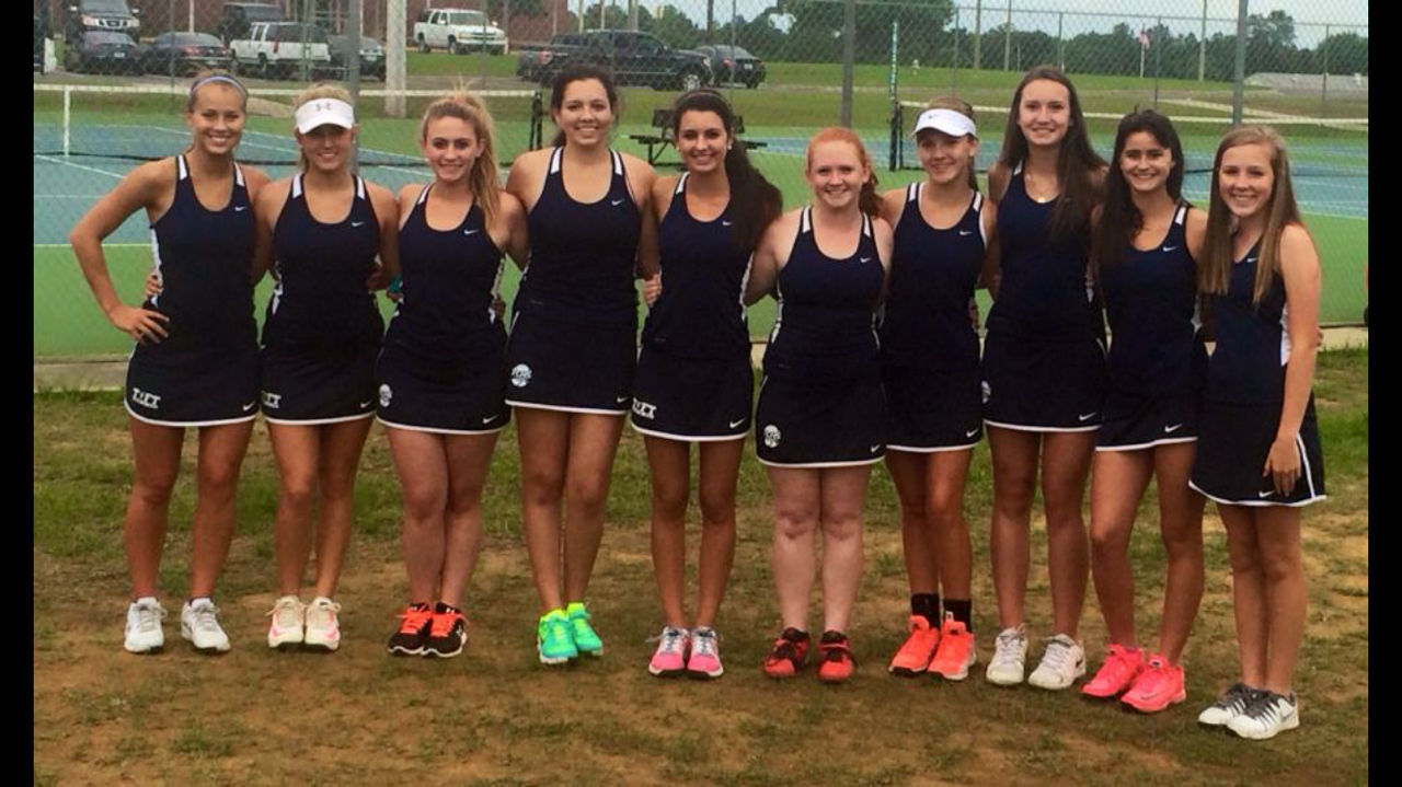 Girls Tennis team photo