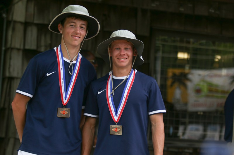 Will Moak and Daniel Panzica win Tennis State Championship Thumbnail Image