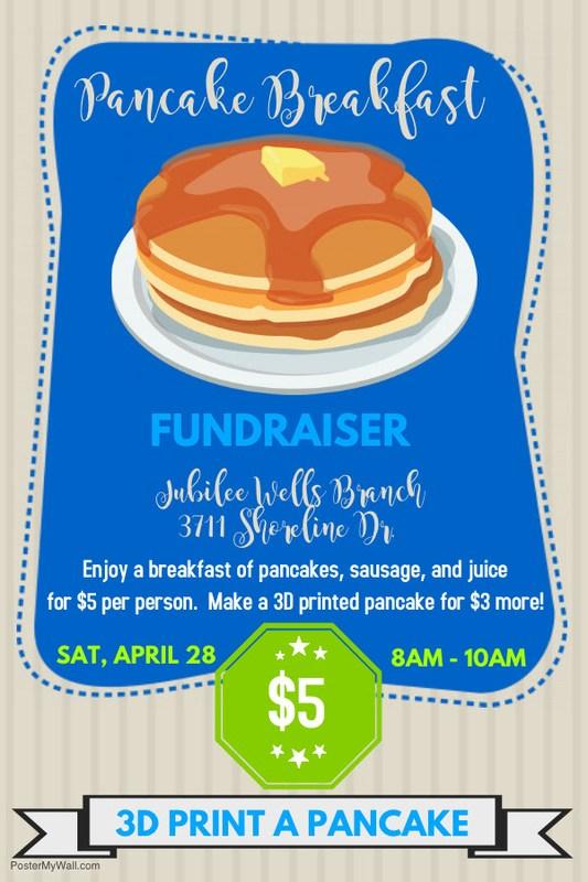Pancake Breakfast Fundraiser - April 28 Featured Photo