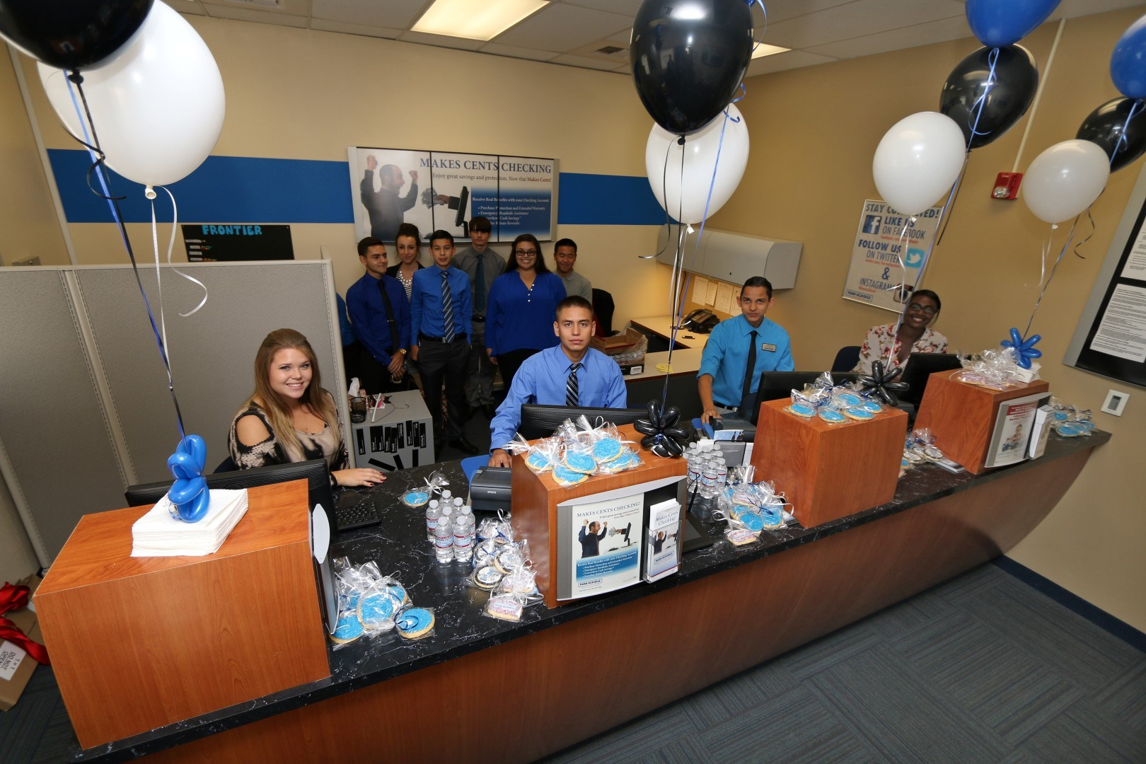 students working in Kern Schools Federal Credit union