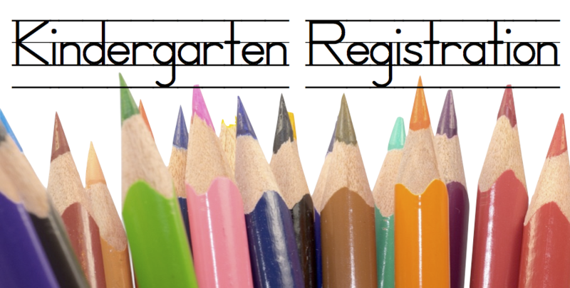 It's time for Kindergarten Registration! Thumbnail Image