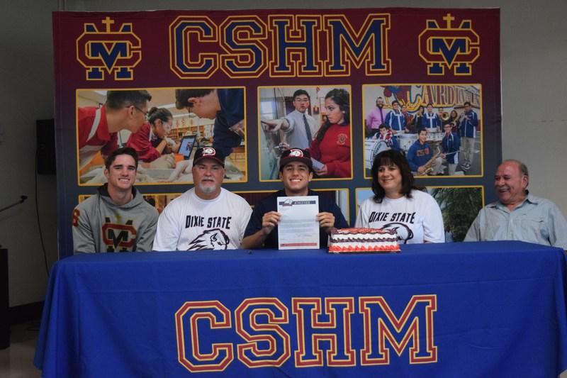 Zach Thomas heads to Dixie State University to play baseball! Thumbnail Image