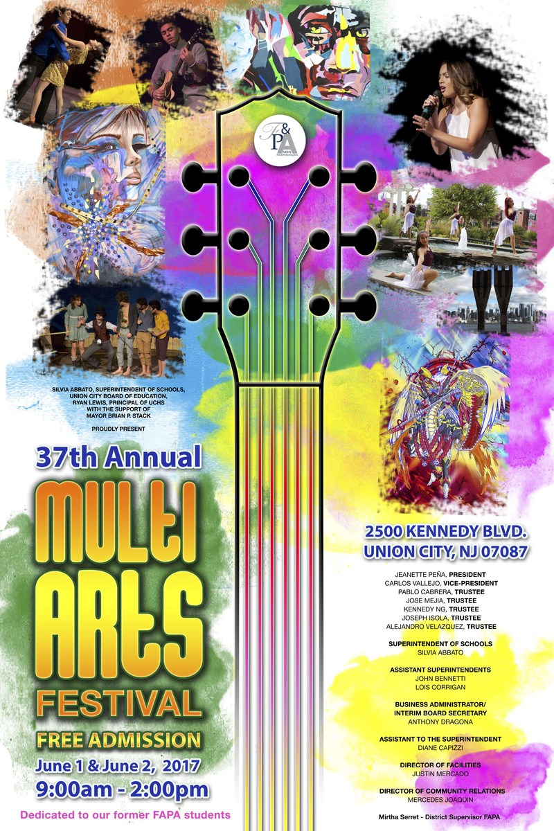 37th multi arts festival poster