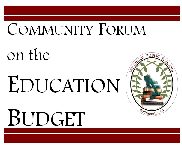 Community Forum on the Education Budget March 12 Thumbnail Image