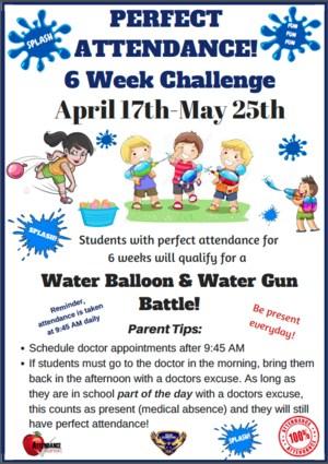 Perfect Attendance Challenge