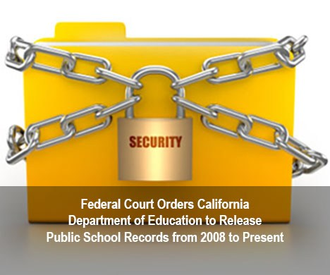 Lock and Chains around a file folder