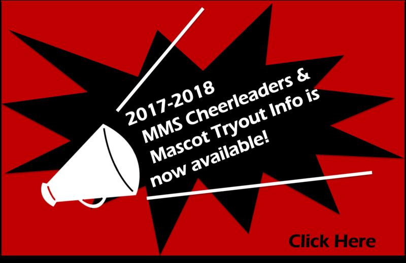 2017-2018 MMS Cheerleaders and Mascot Tryout Information Thumbnail Image