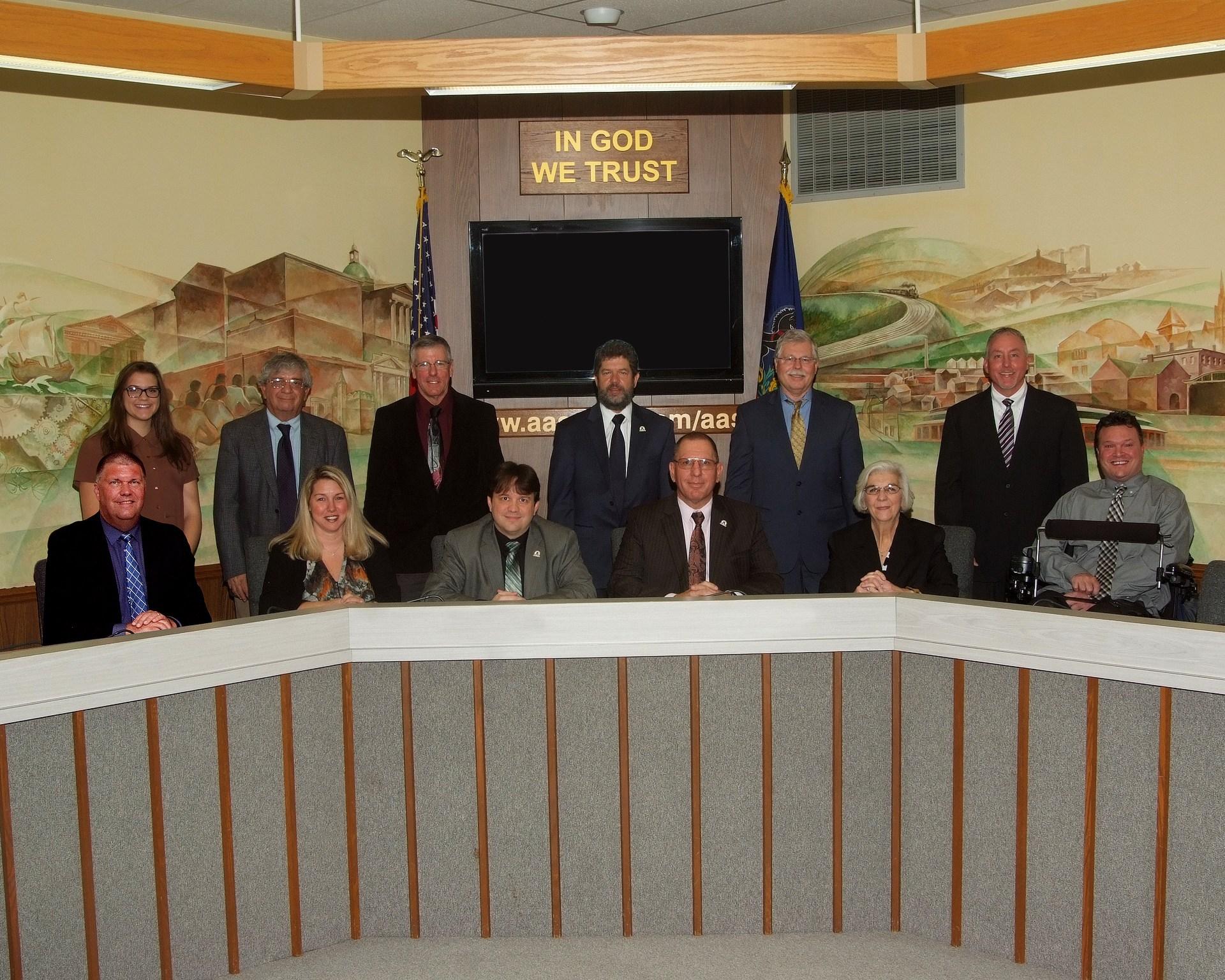School Board Member Group Photo