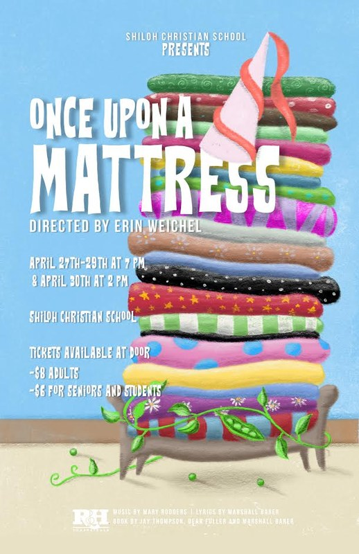 High School Musical  April 27-30, 2017   - Once Upon a Mattress! Thumbnail Image