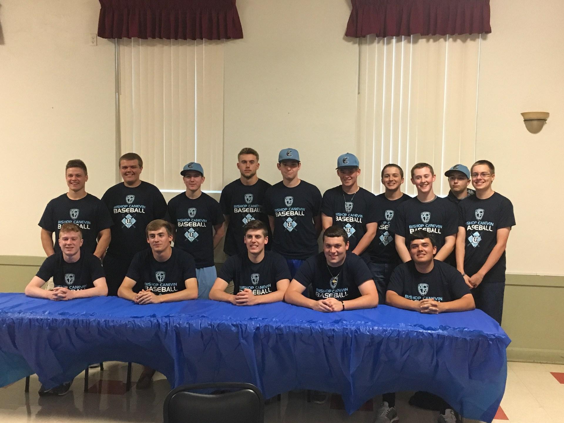 Canevin Baseball at Banquet '17