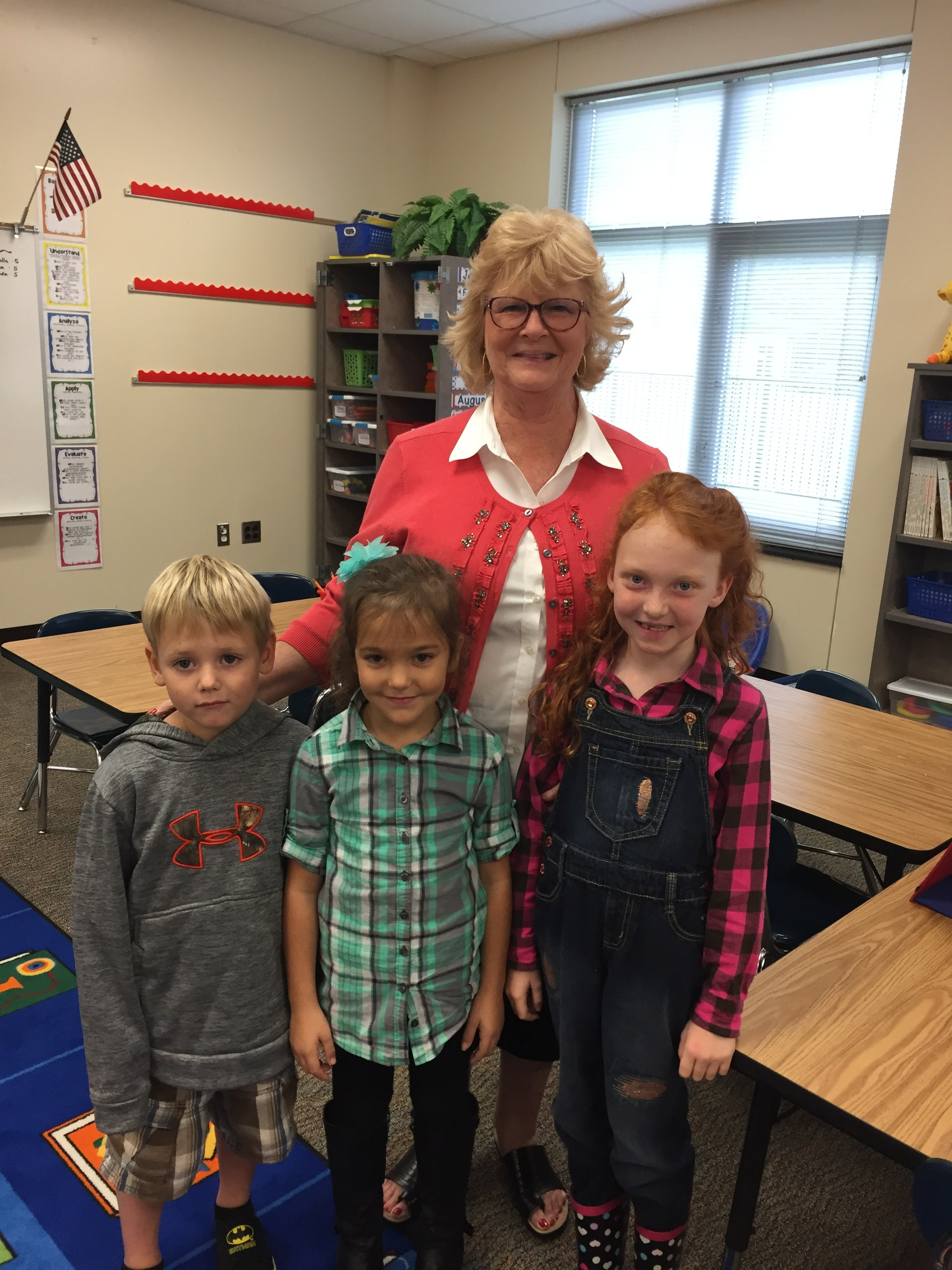 Debbie Pickett with kids