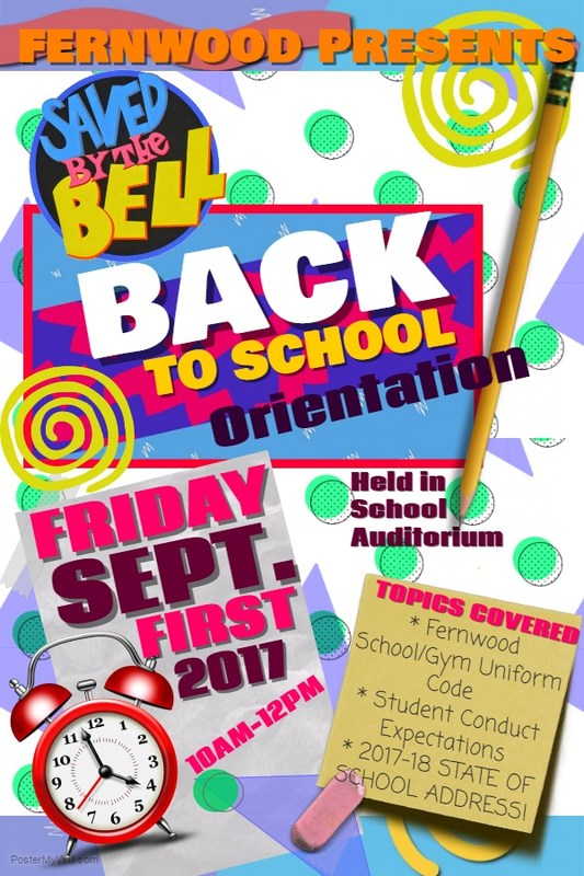 Annual Back-to-School Orientation and Book Bag Give Away Thumbnail Image