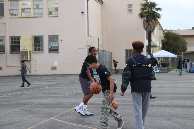 James Harden and Adidas Give Back to AMS