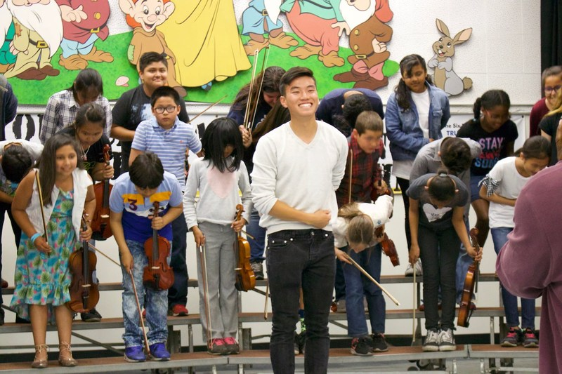 Jake Chao Directing Students