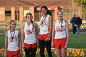 1st Place 4x400 Relay