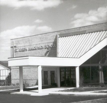 Front facade of St. Richard School
