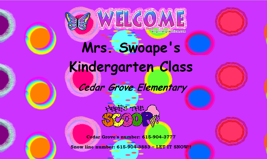 Swoape's Welcome
