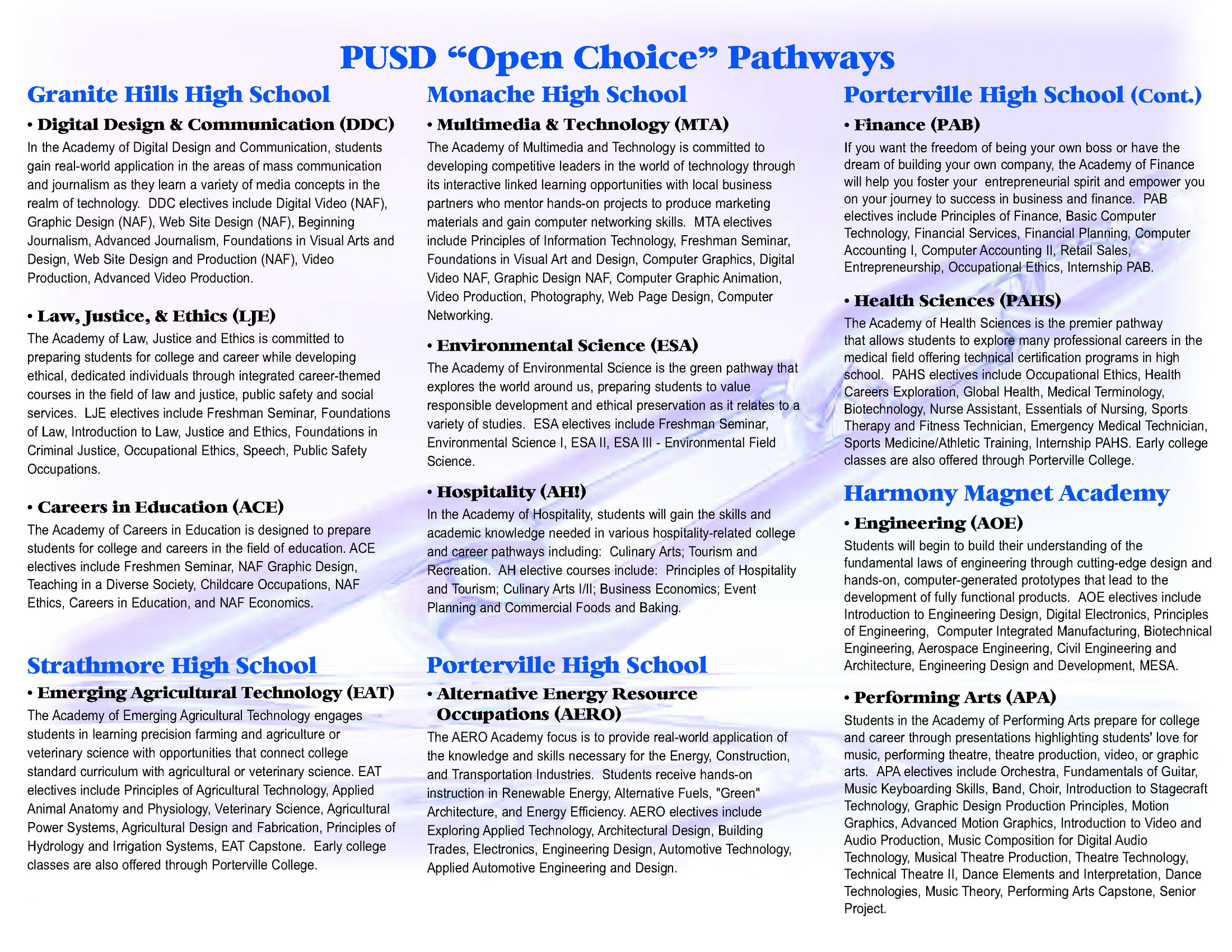 Pathways Brochure